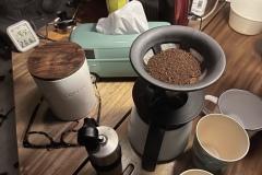 キャンプ のコーヒーは普段の3割マシで美味しい