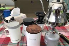 キャンプにコーヒーは欠かせません