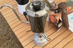 コーヒー用ポット温度計付き