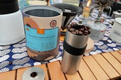 キャンプにコーヒーは必須