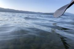 屈斜路湖もかなりの透明度で綺麗です